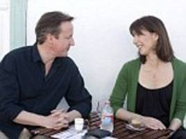 david and samantha cameron look relaxed on holiday in lanzarote