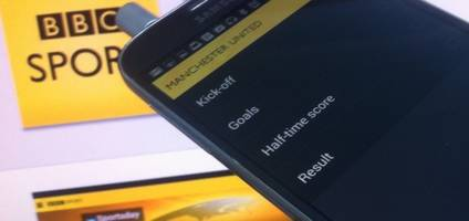 BBC Sport mobile app now serves up push notifications for football results and goals