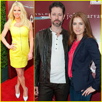 Jessica Simpson Joins Amy Adams & Fiance Darren Le Gallo at the John Varvatos Stuart House Benefit!