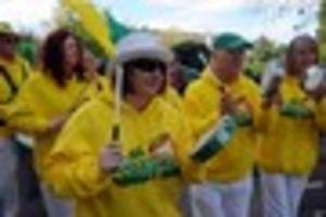 Brazilian samba heads Cheltenham Palm Sunday parade